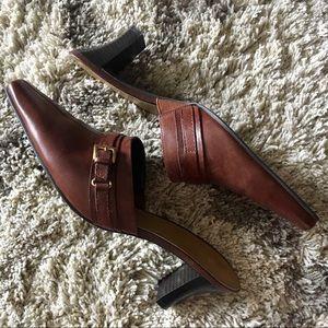 Naturalizer Heyer Mule heel, EUC